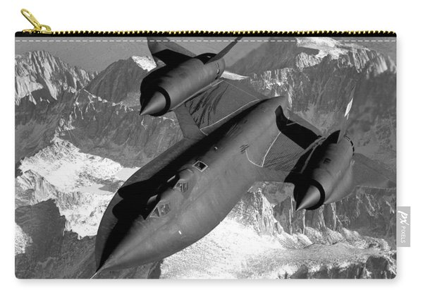 Sr-71 Blackbird Flying Carry-all Pouch