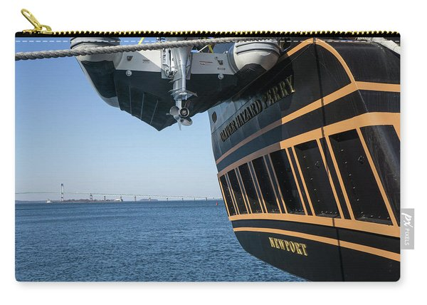 Ssv Oliver Hazard Perry Close Up Carry-all Pouch