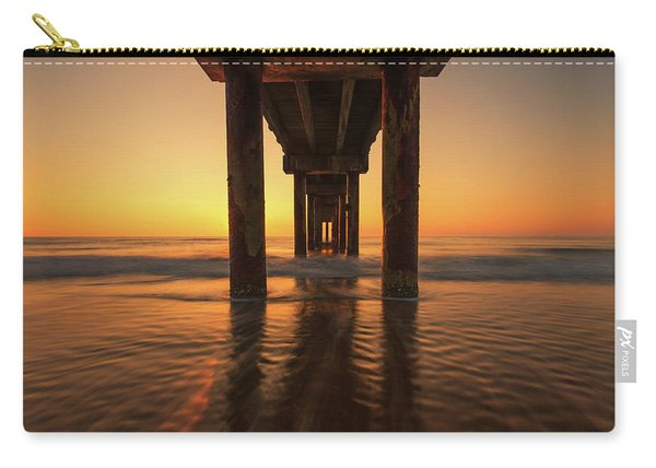 St Augustine Beach Pier Morning Light Carry-all Pouch