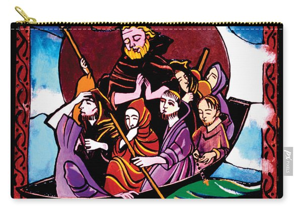 St. Brendan The Navigator - Mmbre Carry-all Pouch