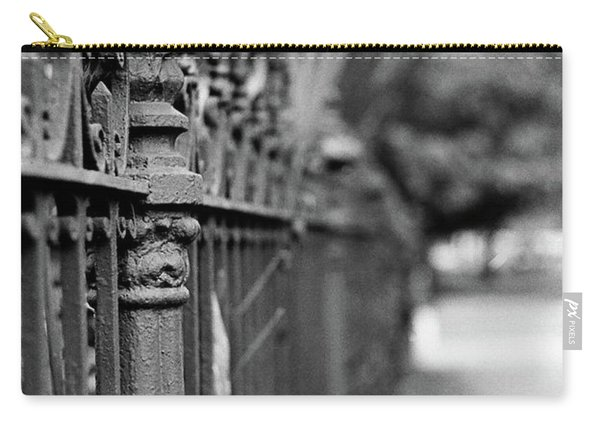 St. Charles Ave Wrought Iron Fence Carry-all Pouch