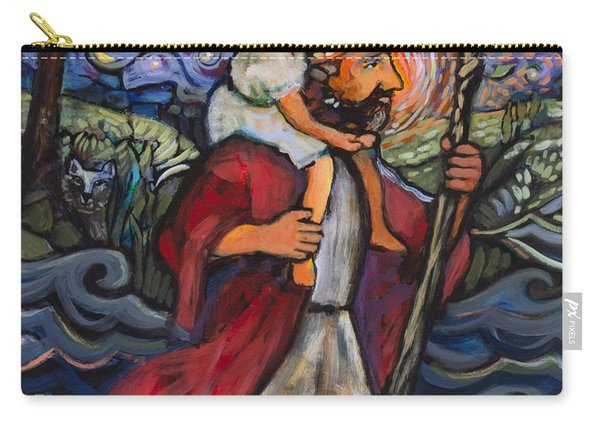 St. Christopher Carry-all Pouch
