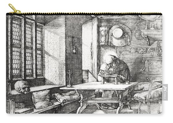St Jerome In His Study Carry-all Pouch