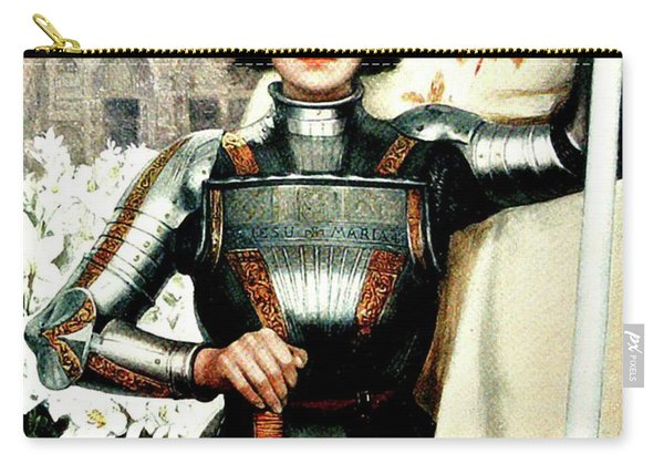 St Joan Of Arc - Jeanne D'arca Carry-all Pouch