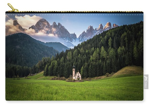 St. Johann Church In Val Di Funes Carry-all Pouch