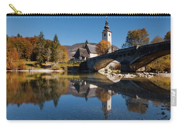 St. John The Baptist On The Lake Bohinj Carry-all Pouch