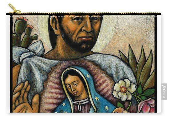 St. Juan Diego And The Virgins Image - Jljdv Carry-all Pouch