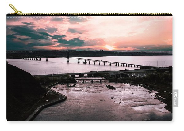 St. Lawrence Sunset Carry-all Pouch