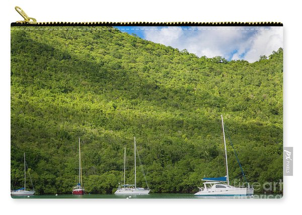St Lucia Boats Carry-all Pouch
