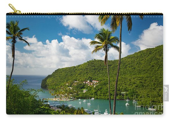 St Lucia - Marigot Bay Carry-all Pouch