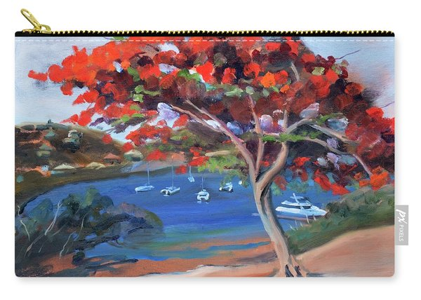 St. Maarten's Oyster Pond Carry-all Pouch