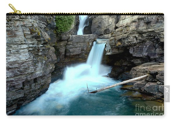 St Mary Falls Landscape Carry-all Pouch