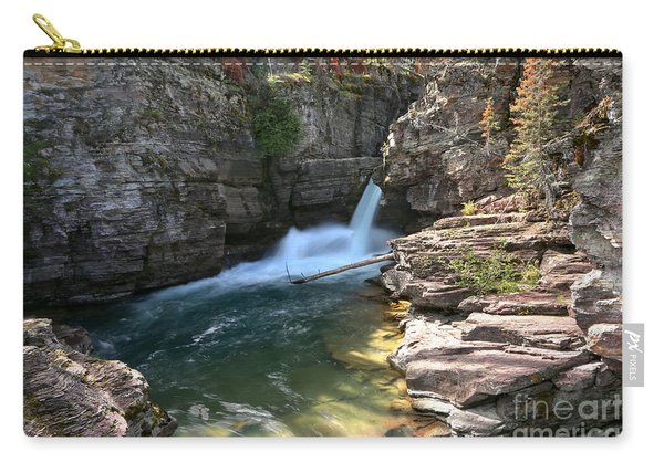 St Mary Waterfall Canyon Carry-all Pouch