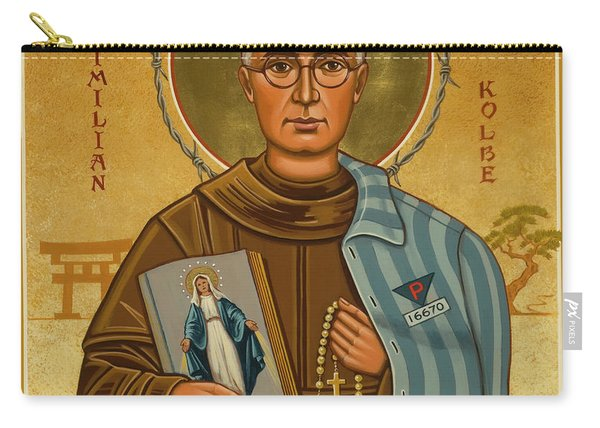 St. Maximilian Kolbe - Jckol Carry-all Pouch