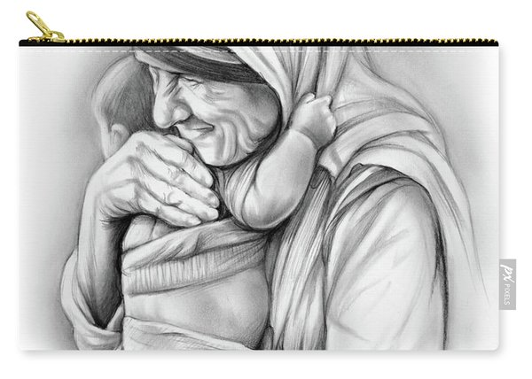 St Mother Teresa Carry-all Pouch