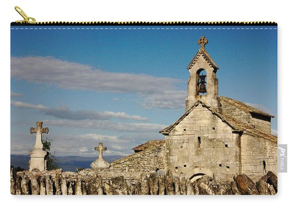 St. Pantaleon Church,  Luberon, France Carry-all Pouch