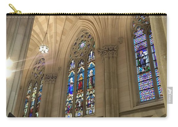 St. Patricks Cathedral Interior Carry-all Pouch