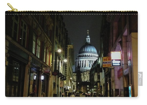St. Pauls By Night Carry-all Pouch