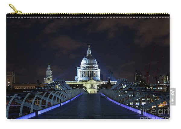 St Paul's Cathedral And The Millennium Bridge Carry-all Pouch