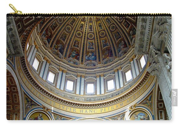 St. Peters Basilica Dome Carry-all Pouch