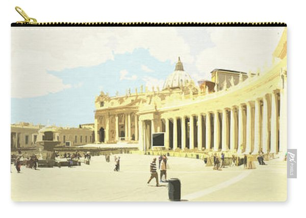 St. Peter's Square The Vatican Carry-all Pouch