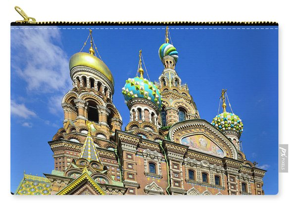 St. Petersburg Church Of The Spilt Blood Carry-all Pouch