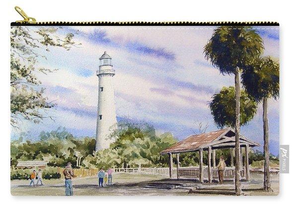 St. Simons Island Lighthouse Carry-all Pouch