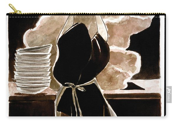 St. Therese Doing The Dishes - Mmdtd Carry-all Pouch