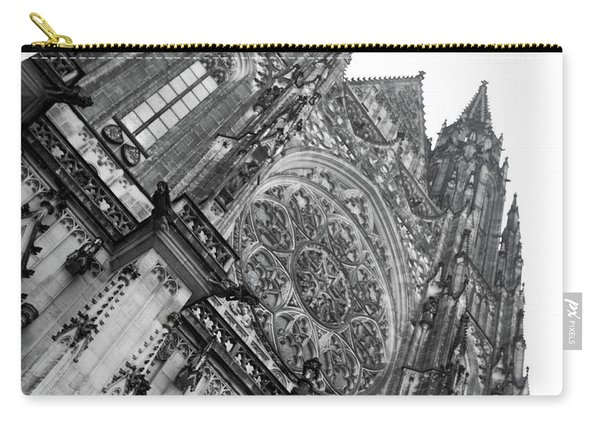 Carry-all Pouch featuring the photograph St. Vitus Cathedral 1 by Matthew Wolf