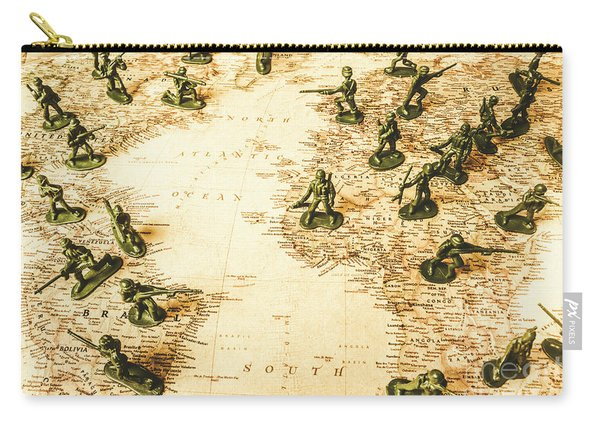 Staged World War Carry-all Pouch