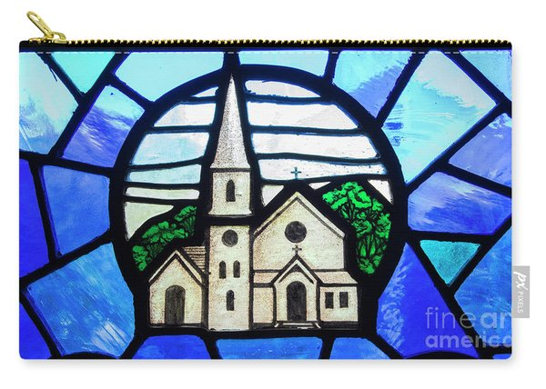 Stained Glass Church Carry-all Pouch