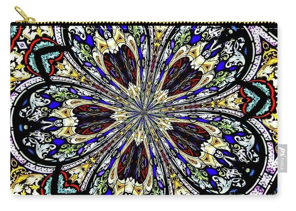 Stained Glass Kaleidoscope 38 Carry-all Pouch