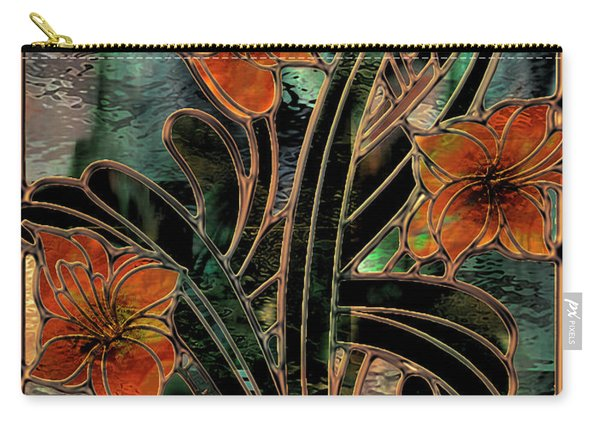 Stained Glass Parabolas Carry-all Pouch