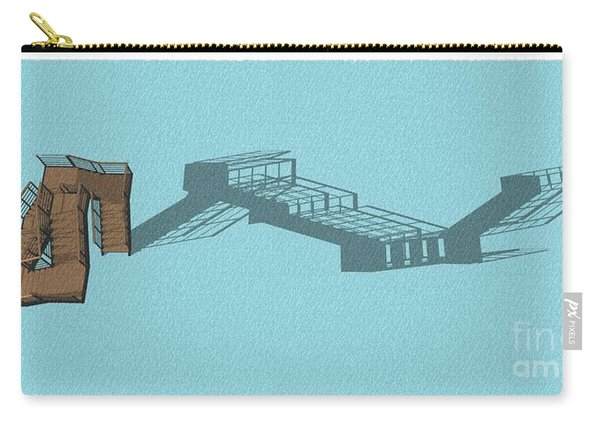 Stair 44 Long Shadow Architect Architecture Carry-all Pouch