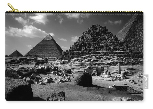 Stair Stepped Pyramids Carry-all Pouch