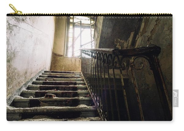 Stairs In Haunted House Carry-all Pouch