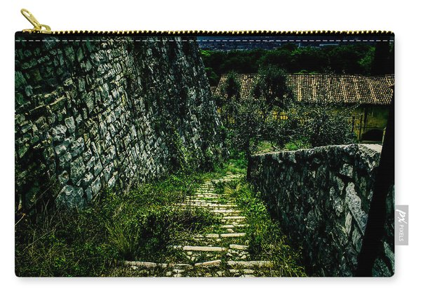 The Staircase In The Green Carry-all Pouch