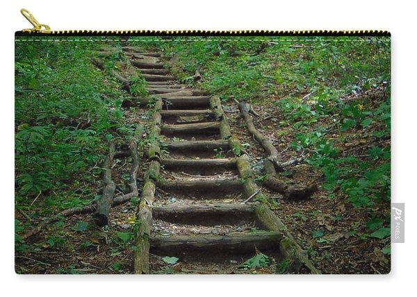 Stairway At Unicoi Gap On The At Carry-all Pouch