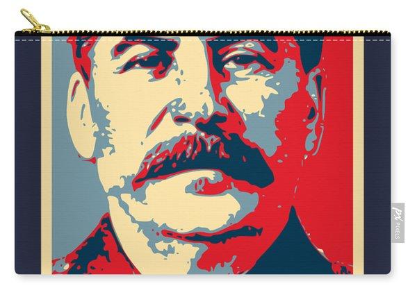 Stalin Propaganda Poster Pop Art Carry-all Pouch