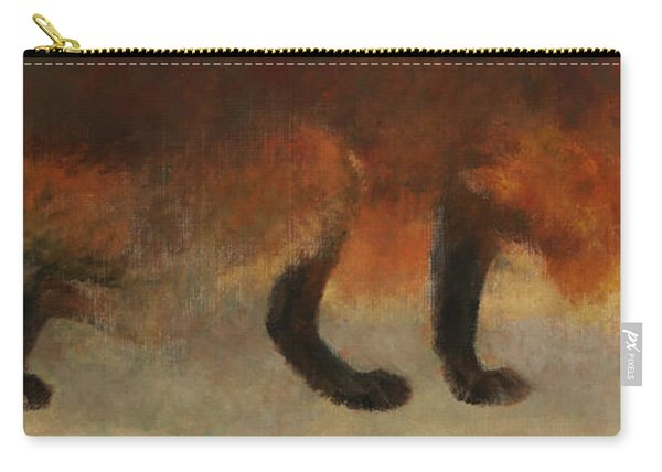Stalking Fox Carry-all Pouch
