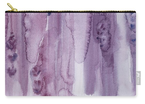 Stalks Of Lavender Carry-all Pouch