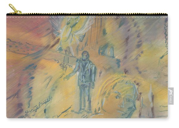 Standing At The Crossroads Carry-all Pouch