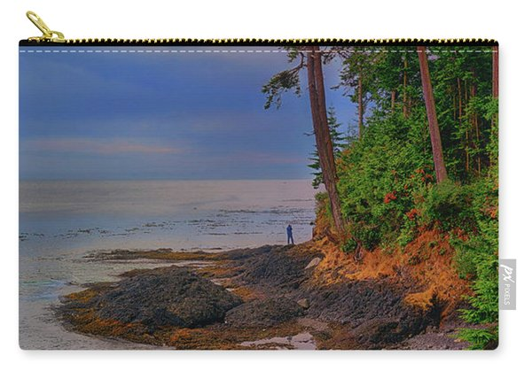 Standing By The Sea Carry-all Pouch