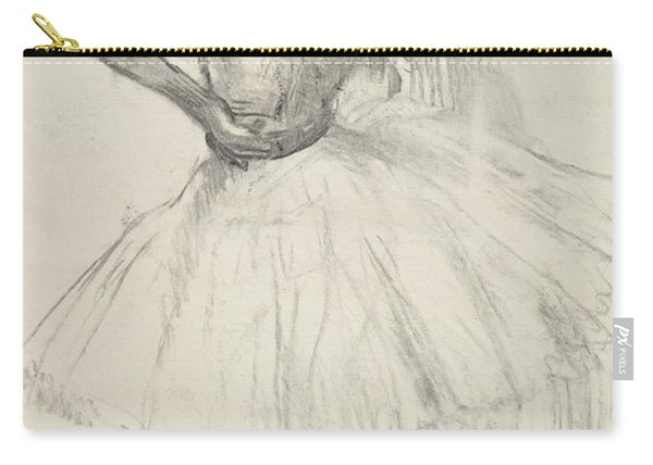 Standing Dancer, Right Arm Raised Carry-all Pouch