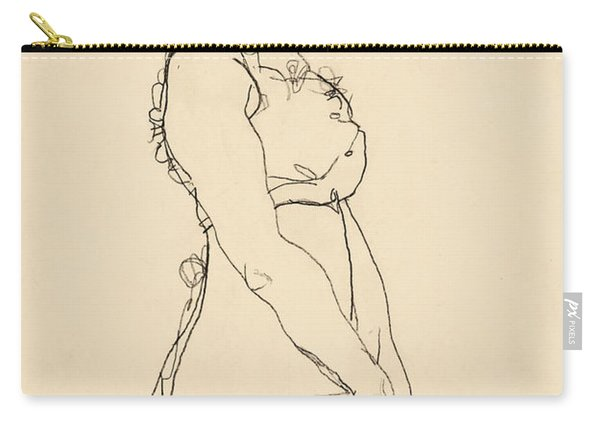 Standing Woman Carry-all Pouch