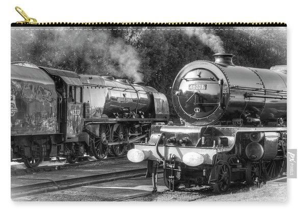 Stanier Pacifics At Swanwick Carry-all Pouch