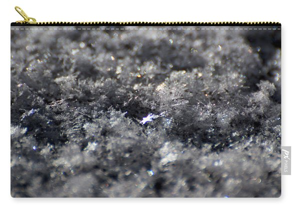 Carry-all Pouch featuring the photograph Star Crystal by Jason Coward