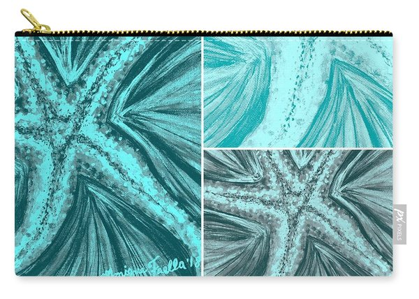 Starfish Pop Art Carry-all Pouch