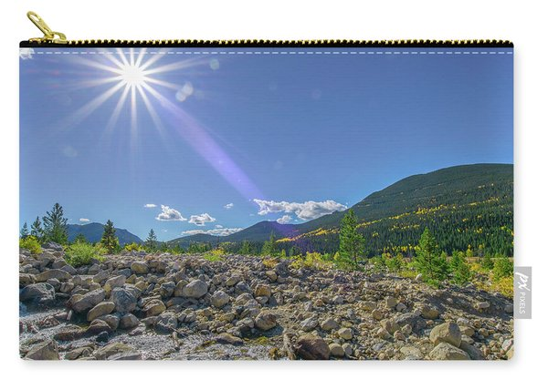 Star Over Creek Bed Rocky Mountain National Park Colorado Carry-all Pouch