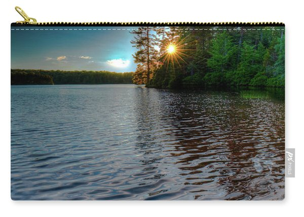 Star Sunset On Nicks Lake Carry-all Pouch